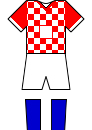 Croatia Home Kit - World Cup 2014