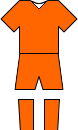 Netherlands Kit - World Cup 2014