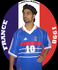 France 1998 Home Jersey by Adidas
