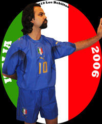 Italy 2006 Home Jersey with Home Shorts (Home Kit) by Puma