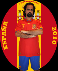 Spain 2010 Home Jersey with Home Shorts (Home Kit) by Adidas