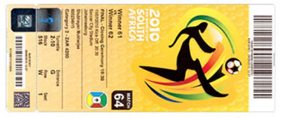 World Cup 2010 Tickets